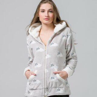 Today's jacket  #harmonyhomewear #cozy #warm #fleece