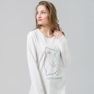 Are you dreaming awake ? 🦔 #harmonyhomewear #pajamas #pjs #warmandintimate
