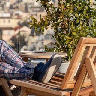 Drink your coffee & enjoy this sunny day ☀️ #harmonyhomewear #homewear #pjs #sun #coffee