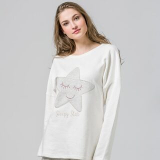 Sleepy star ⭐️ #harmonyhomewear #harmony #pjs #homewear #sleepymonday